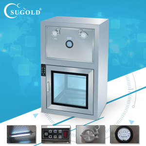 High Speed Airflow Laminar Pass Boxes with Air Shower