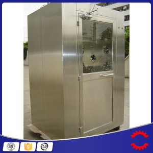 Stainless Steel Single Person Air Shower for Clean Room
