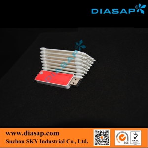 Industrial Cotton Swab for Lens Cleaning